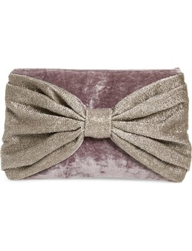 bow-clutch by rachel-parcell