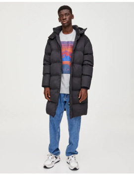 extra-long-quilted-coat by pull-&-bear