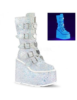 Ice Queen Platform Boots by Alien Outfitters