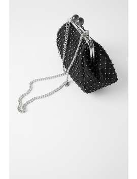 diamanté-kiss-lock-crossbody-bag by zara