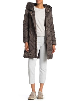 lux-faux-fur-trim-hood-quilted-jacket by via-spiga