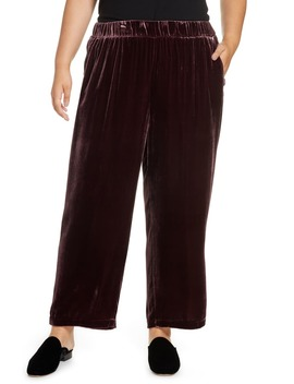 wide-velvet-ankle-pants by eileen-fisher