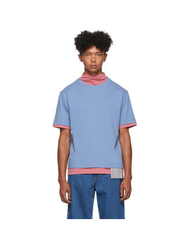 blue-&-pink-pullover-t-shirt by keenkee