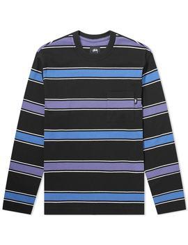 stussy-long-sleeve-marco-stripe-tee by stussy