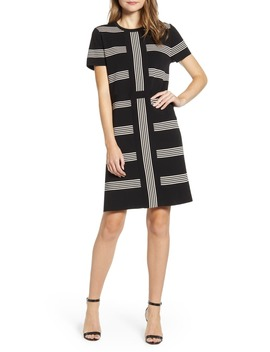 multi-stripe-dress by anne-klein