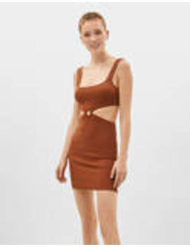 dress-with-cut-out-sides by bershka