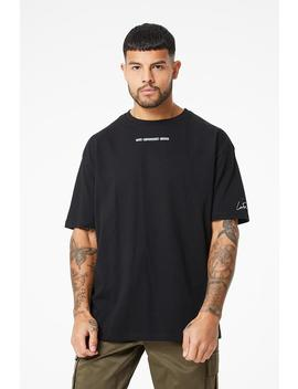 Gothic Outline Box Fit Tee by Couture Club
