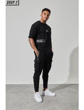 Logo Label Oversized Tee by Couture Club