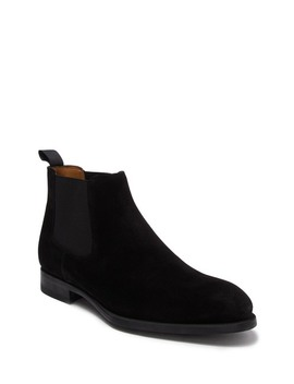 foster-suede-chelsea-boot by magnanni