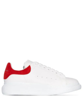 suede-panelled-leather-sneakers by alexander-mcqueen