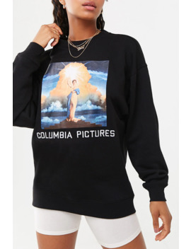 "sudadera-""columbia-pictures"" by forever-21"