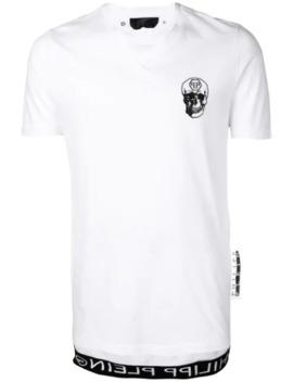 skull-detail-t-shirt by philipp-plein