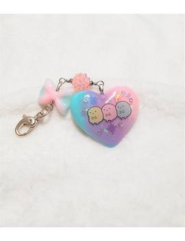 kawaii-hamster-pastel-heart-purse-charm,-cute-hamster-heart-and-bow-bag-glam by etsy