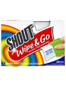 Shout Wipe & Go Instant Stain Remover Wipes12.0sheet by Walgreens