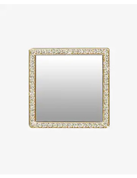 idecoz-gold-crystal-phone-mirror by express