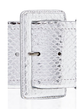 snakeskin-waist-belt by carolina-herrera