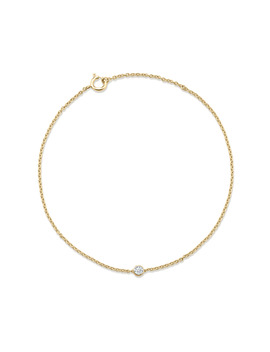Gossamer 18ct Yellow Gold 0.07cttw Diamond Bracelet by Goldsmiths