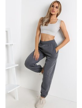 Charcoal Oversized Joggers by Lasula