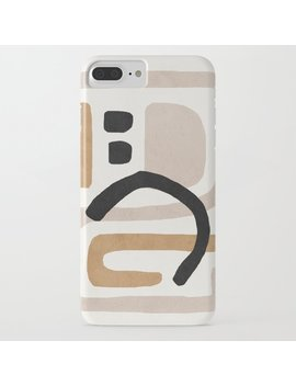 abstract-shapes-art,-mid-century-modern-art-iphone-case by society6