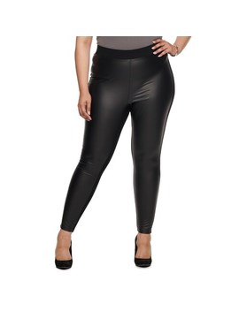 plus-size-utopia-by-hue-ponte-and-leather-leggings by utopia-by-hue