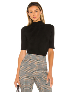 mock-neck-pullover-sweater by 525-america