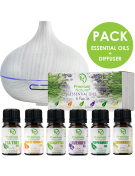 diffuser-and-6-essentialoils-holiday-gift-pack by premium-nature