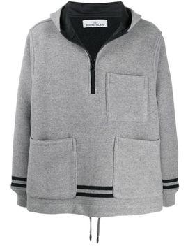 patch-pocket-hoodie by stone-island