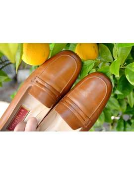 made-in-italy---cole-haan---tan-leather-loafer-style-shoes-(-us-75,-eu-38-) by etsy