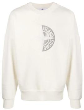 logo-patch-fleece-jumper by stone-island