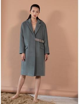 Carmen Wool Coat   Dusk by Petite Studio