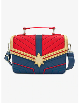Loungefly Marvel Captain Marvel Crossbody Bag by Her Universe