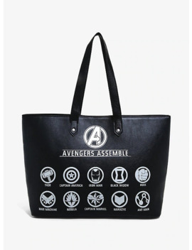 Marvel Avengers: Endgame Assemble Icons Tote Bag by Her Universe