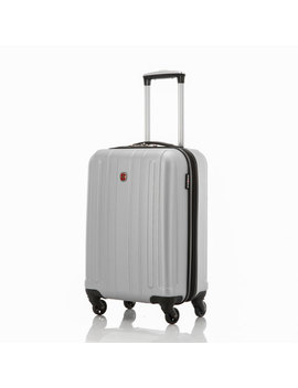 "swissgear-london-215""-hard-side-carry-on-luggage---silver by best-buy"