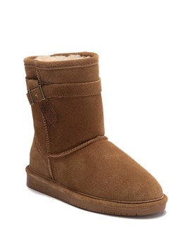 val-youth-suede-genuine-sheepskin-boot-(little-kid-&-big-kid) by bearpaw