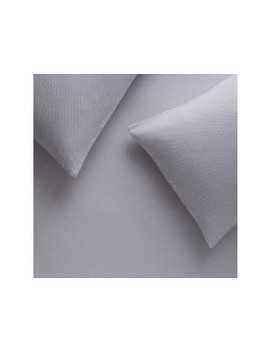 Grey Jacquard Double Duvet Cover Set Grey Jacquard Double Duvet Cover Set by Ellenborough                         Ellenborough
