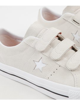 converse-one-star-pro-3v-ox-shoes---egret-_-campfire-orange-_-white by converse