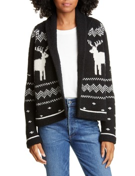 reindeer-lodge-cardigan by the-great