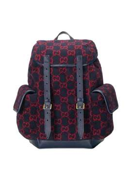 monogram-print-backpack by gucci