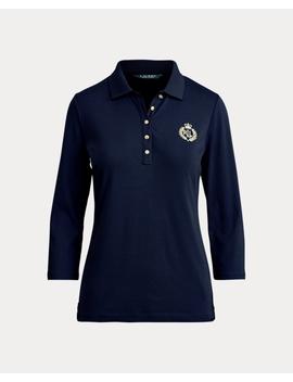 bullion-patch-polo-shirts by ralph-lauren