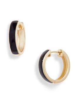 enamel-plated-hoop-earrings by argento-vivo