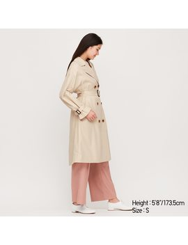 women-relax-trench-coat by uniqlo
