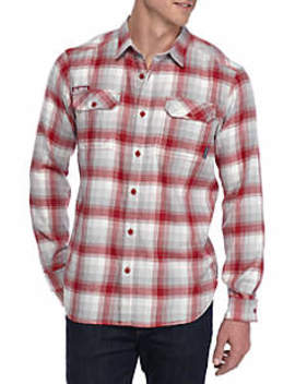 ncaa-long-sleeve-collegiate-flannel-shirt by columbia