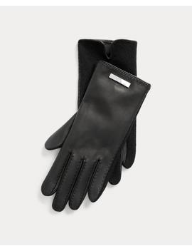 Handschuhe Aus Schafleder by Ralph Lauren