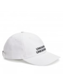 dreamland-syndicate-unknowns-cap-(white) by dover-street-market