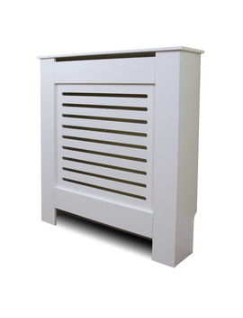 Wandsworth Radiator Cover White   White / 780mm by Winther Browne