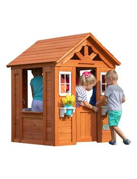 timberlake-all-cedar-playhouse by backyard-discovery