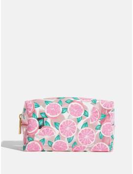 Grapefruit Paradise Makeup Bag by Skinnydip