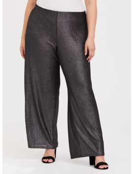 grey-shine-pull-up-wide-leg-pant by torrid