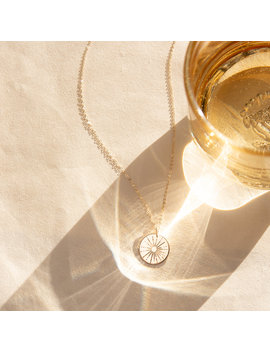 The Sun Necklace by Gldn