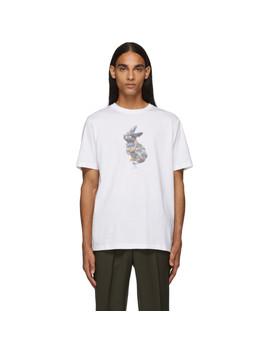 white-rabbit-t-shirt by ps-by-paul-smith